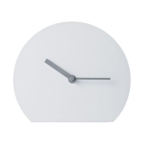 MENU 6067139 Steel Stand Clock, Light Grey