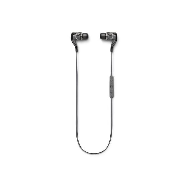 Plantronics BackBeat Go 2 Wireless Hi-Fi Earbud Headphones - Compatible with iPhone, iPad, Android, and Other Leading Smart Devices - Black