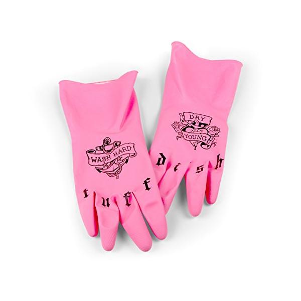 Fred & Friends TUFF DISH Tattooed Dish Gloves