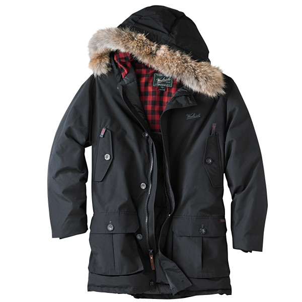 Woolrich Men's Arctic Parka, Black,
