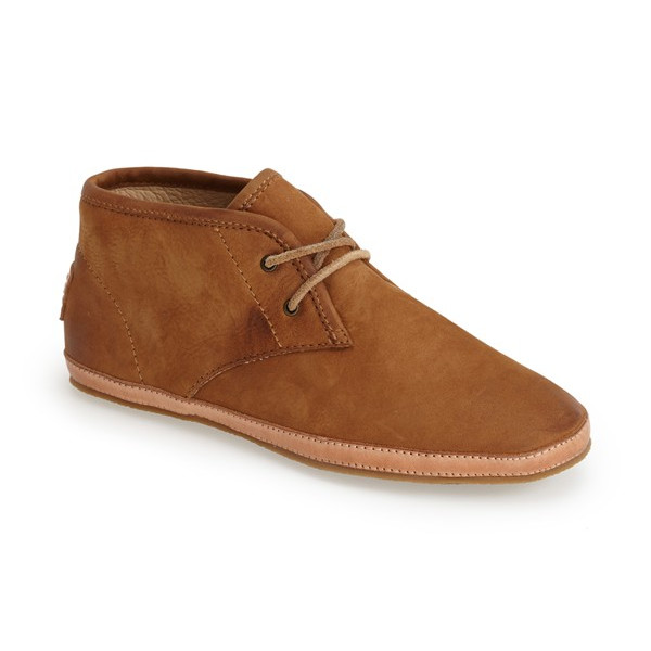 FRYE Tegan Chucka Sneaker,  Camel