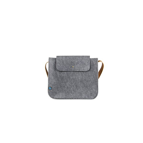 M.R.K.T. Parker Small Shoulder Bag II, Elephant Grey, One Size
