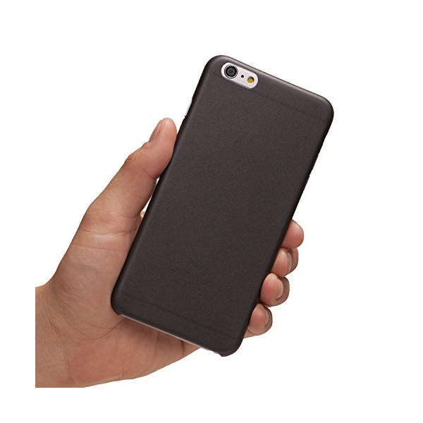 "iPhone 6 Plus Case, TOTALLEE The Scarf for iPhone 6 Plus (5.5"") The Thinnest Case in The World - Ultra Thin & Ultra Light - Slim Minimal Lightweight (Black)"