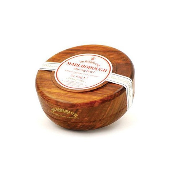 D.R. Harris Marlborough Shaving Soap in Mahogany Bowl
