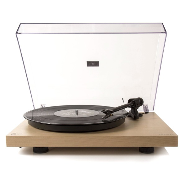 Crosley X Pro-Ject C10 Turntable, Natural