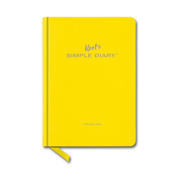 Keel's Simple Diary, Vol. 1 (Yellow)