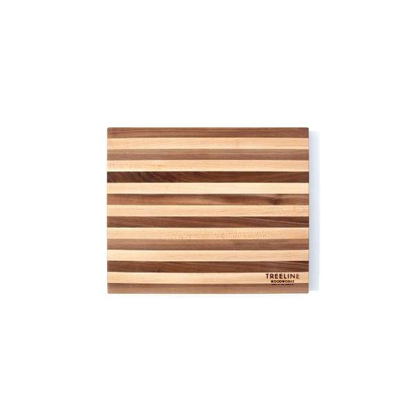 Treeline Homegoods Walnut and Hard Maple Cutting Board