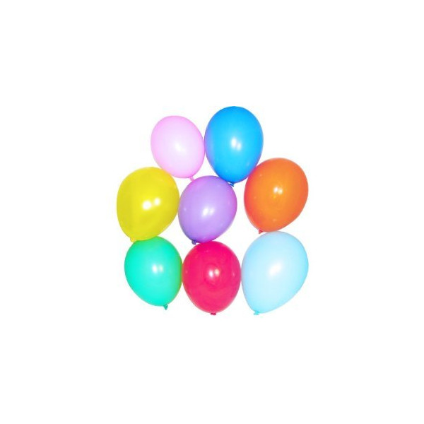 Standard Color Balloons (144 pcs)