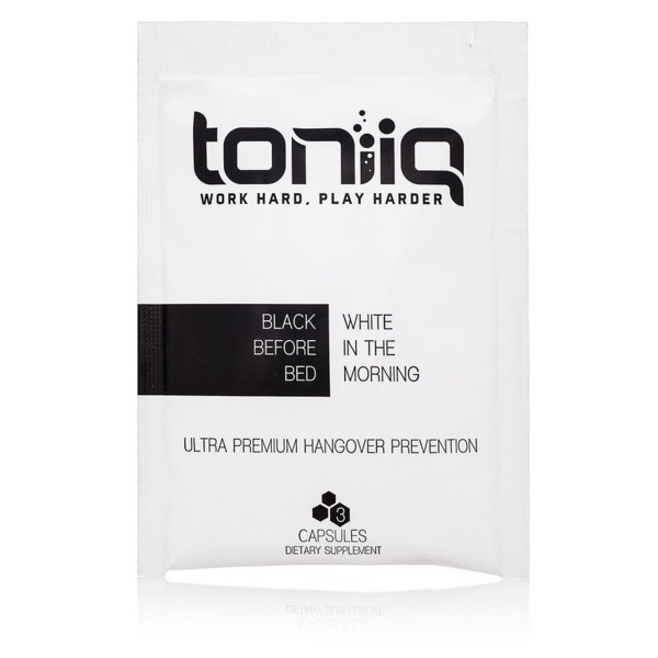 Toniiq Ultra Premium Hangover Prevention (6 To-Go Packets)