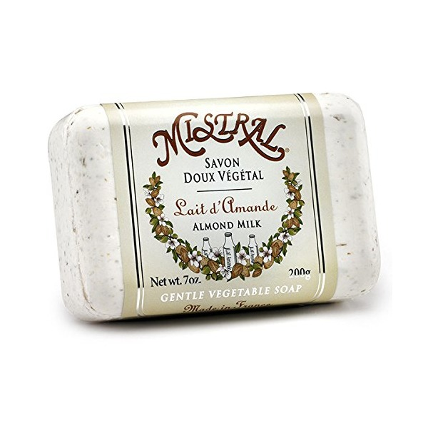 Mistral Soap, Almond Milk, 200 Grams
