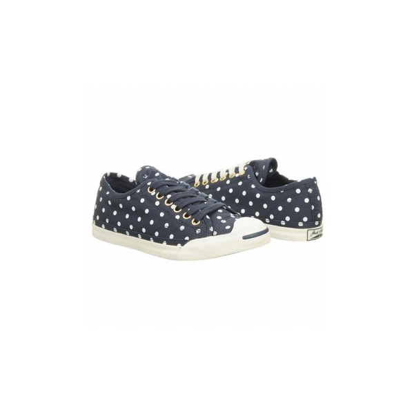 CONVERSE Women's Jack Purcell LP L/S (Navy 5.5 M)