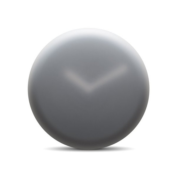 Hazy Wall Clock