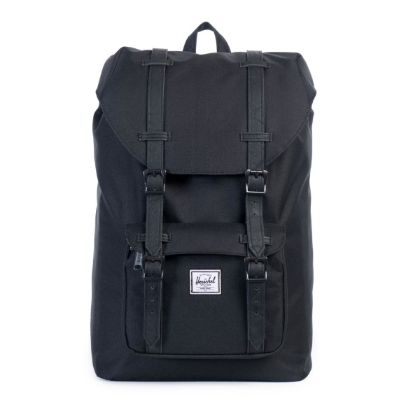 Herschel Supply Co. Little America Rubber, Black