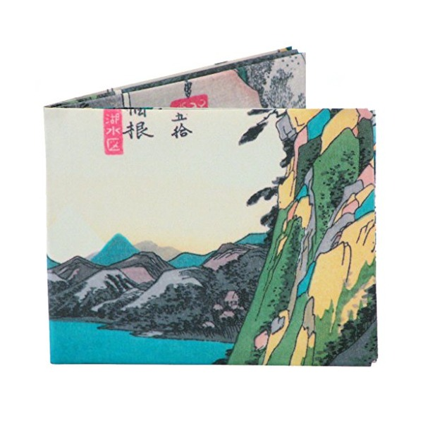 Dynomighty Men's Hiroshige Mighty Wallet - Super Thin Lightweight Tyvek Billfold