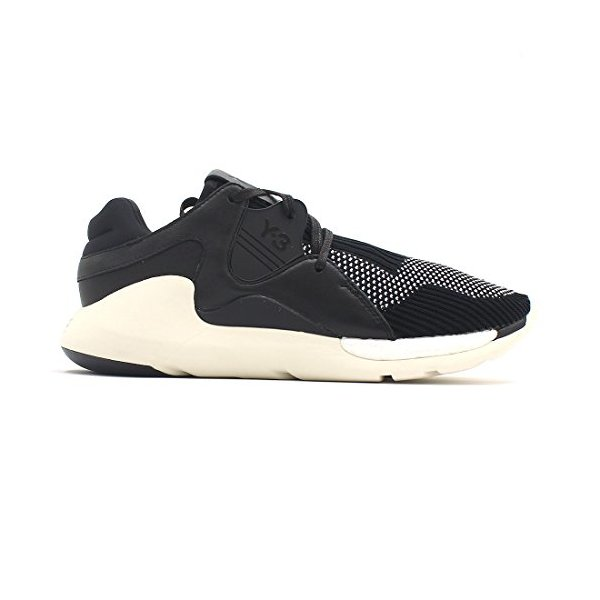 Y-3 Men's Y-3 Boost QR Knit Sneakers, Black, 9 UK (10 D(M) US Men)