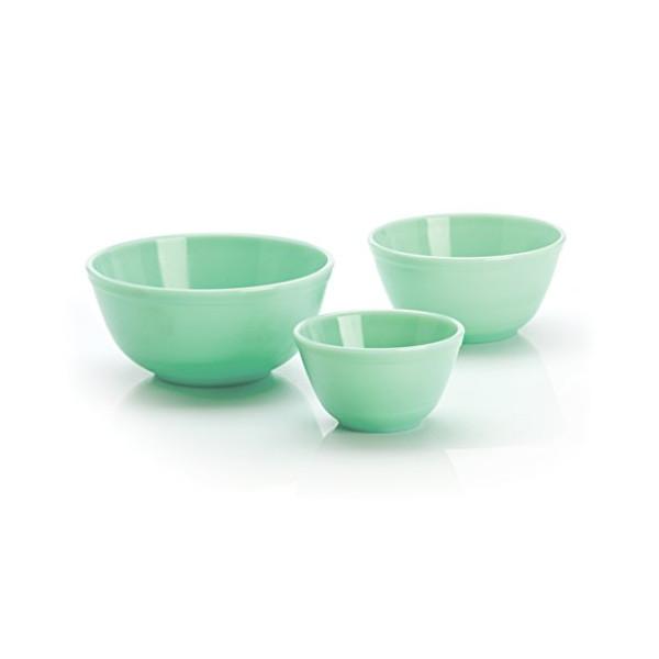 Jadeite Mixing Bowl Set