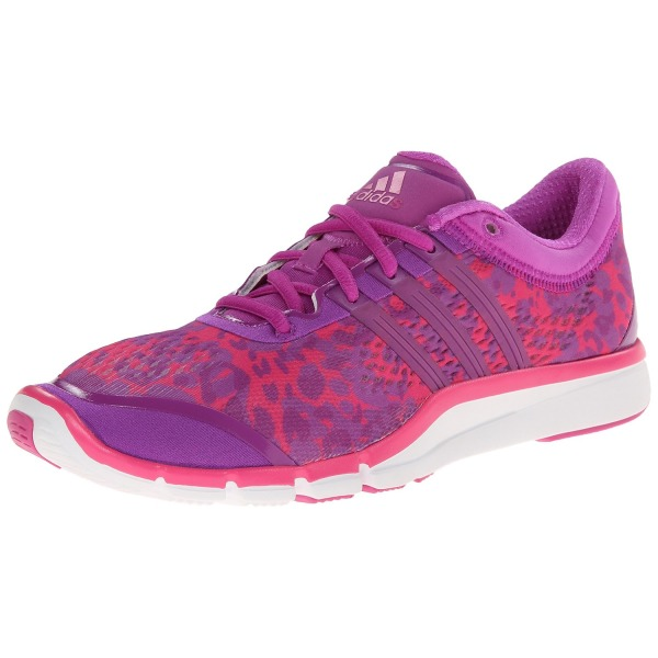 adidas Performance Women's Adipure 360.2 W Cross Trainer, Pink/Flash Pink/White, 7.5 M US