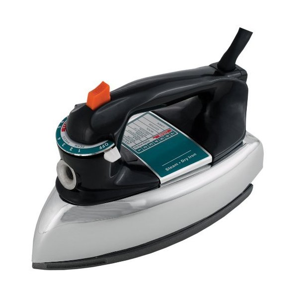 Continental Electric CP43021 Classic Steam and Dry Iron