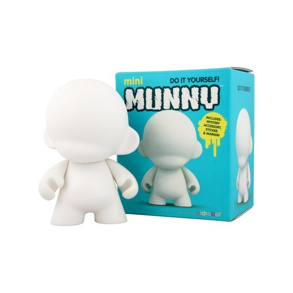 Kidrobot Mini Munny Diy Vinyl Art Figure