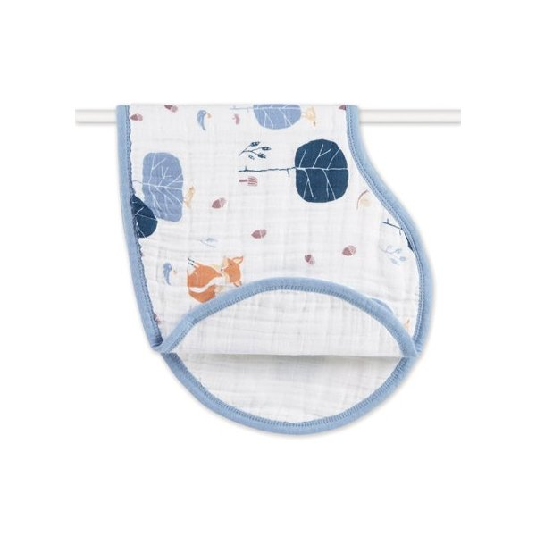 aden + anais Organic Burpy Bib, Into The Woods