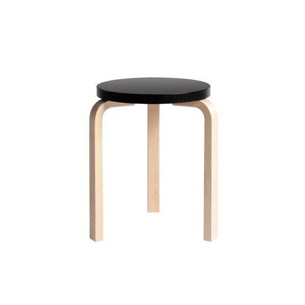 Artek Stool 60 - Anniversary Edition - Black