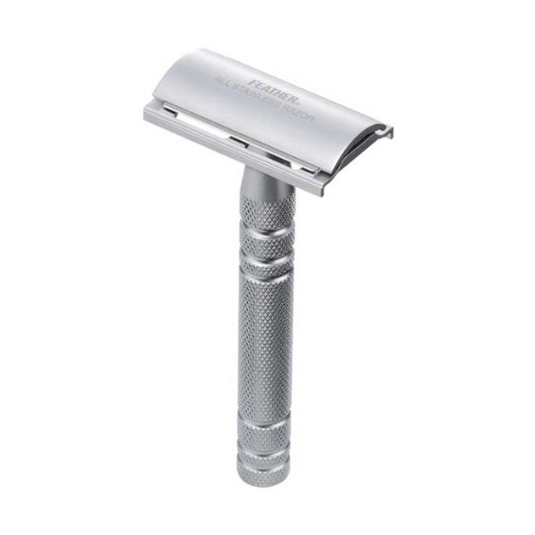 Seki Edge Feather All Stainless Steel Double Edge Safety Razor (AS-D2)