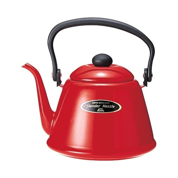 Kalita narrow opening Tea Kettle 2L Red