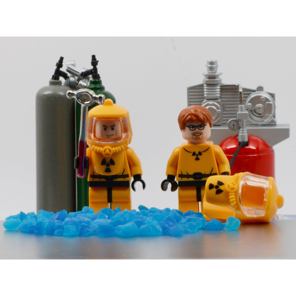 15.3 x 19.3 in. Lego Breaking Bad
