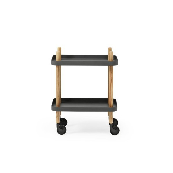 Normann Copenhagen Block Table, Dark Grey by Normann Copenhagen