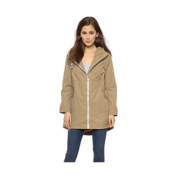 Penfield Women's Gibson Rain Jacket, Gold, Small