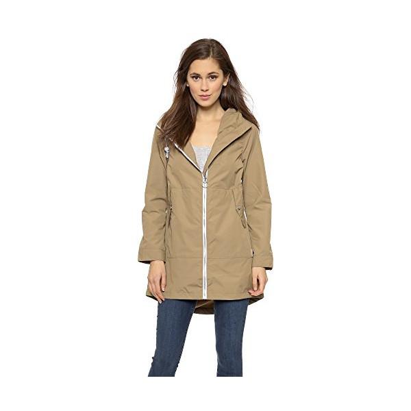 Penfield Women's Gibson Rain Jacket, Gold, Small