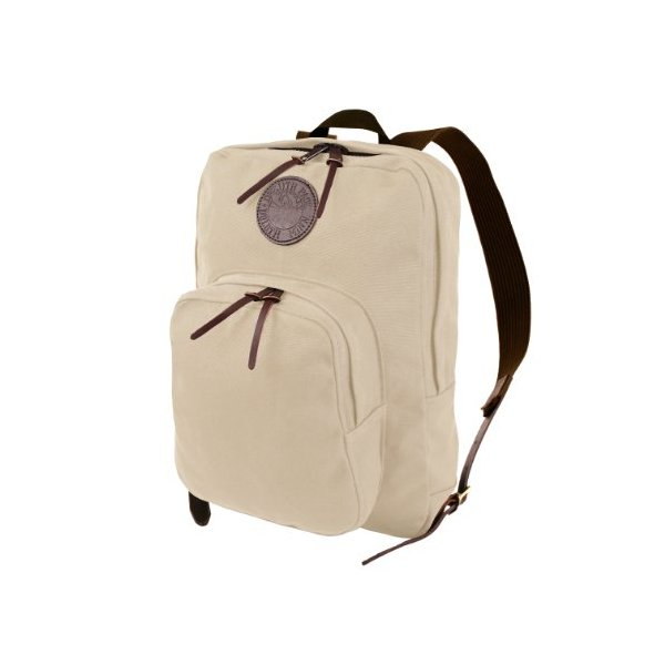 Duluth Pack Large Standard Daypack, Natural, 18 x 14 x 5-Inch