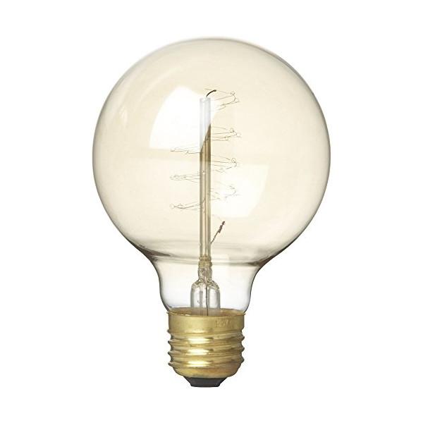 CB2 Spiral Filament 40w Light Bulb