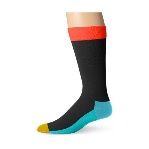 Happy Socks Men's Five Color Socks
