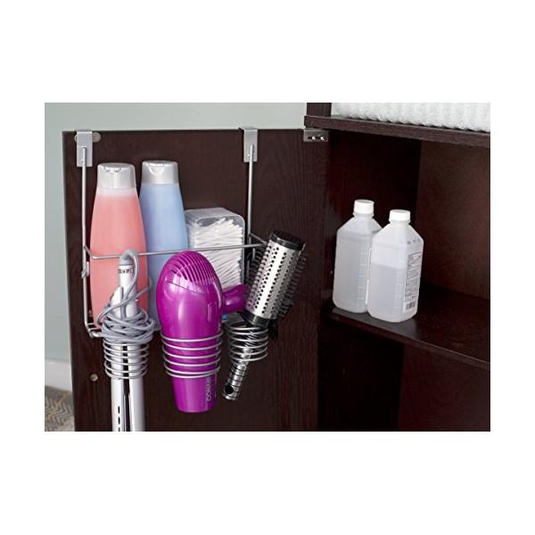 Home Basics Over the Counter Hairdryer Holder