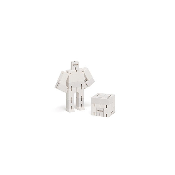 Areaware Micro Ninjabot White Puzzle