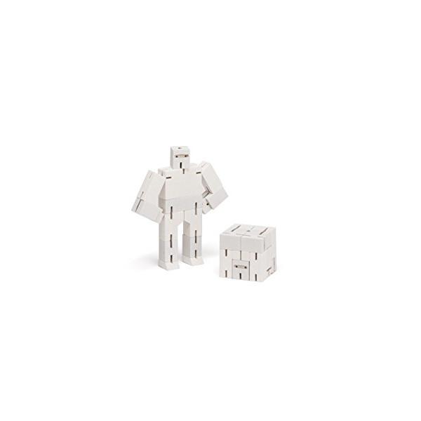 Areaware Micro Ninjabot White Puzzle