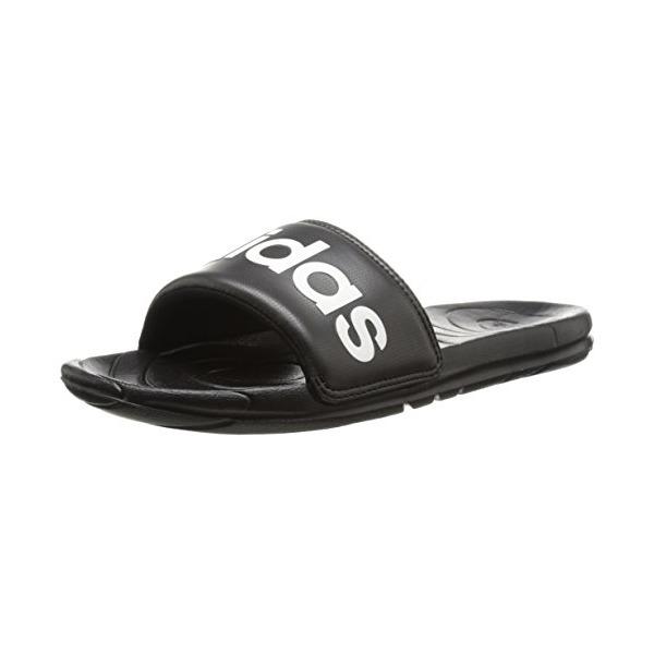 adidas Performance Women's Voloomix Sleek LG W Athletic Sandal,Black/Black/Zeromt,9 M US