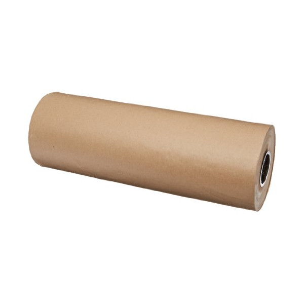 "Pratt Multipurpose Kraft Paper Sheet for Packaging Wrap, KPR30241200R,  1200' Length x 24"" Width, Kraft"
