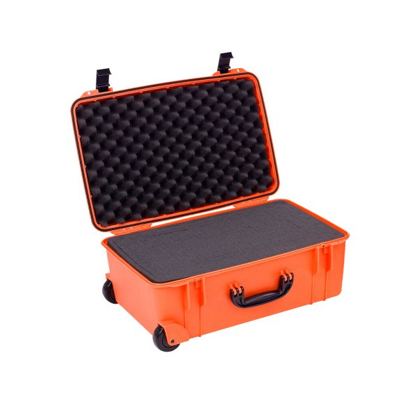 Seahorse SE920 Protective Wheeled Case with Foam (Orange)