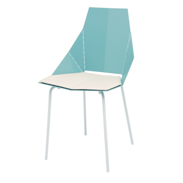 Real Good Chair by Blu Dot, Aqua