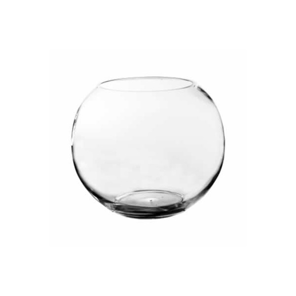 Bubble Bowl - Large Size. Hand Blown Glass, Not Machine Made (Pack of 1 pc)