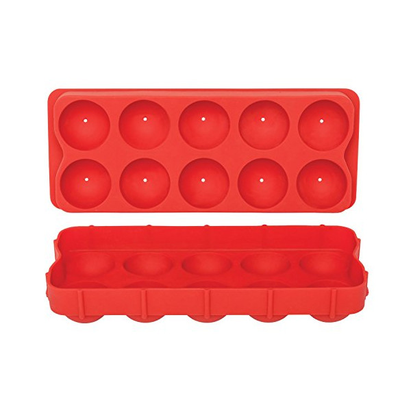 HIC Silicone Cannonball Ice Ball Mold Tray