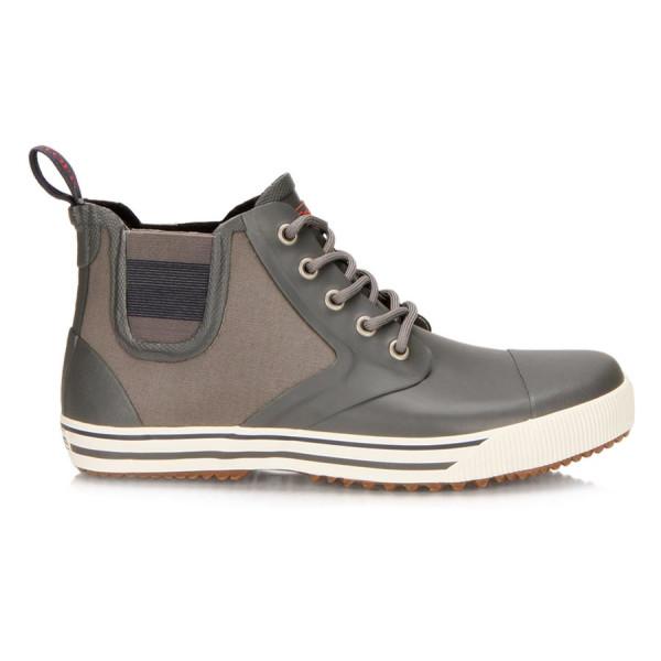 Tretorn Gunnar Canvas Rain Boot, Gunmetal