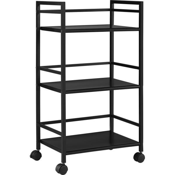 Altra Furniture 3-Shelf Metal Rolling Utility Cart