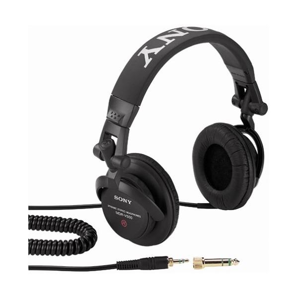 Mdr-V500dj Studio Monitor Headphones