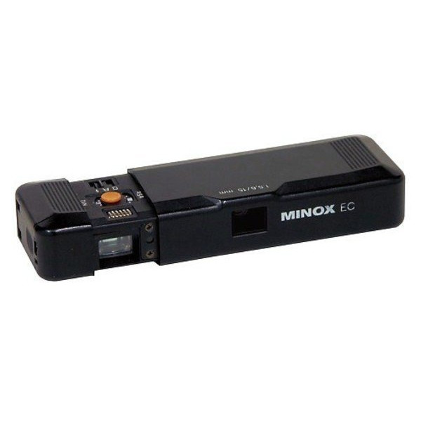 Minox EC The world's smallest camera, Subminiature Camera with 8x11mm film format and case, measuring chain & film.