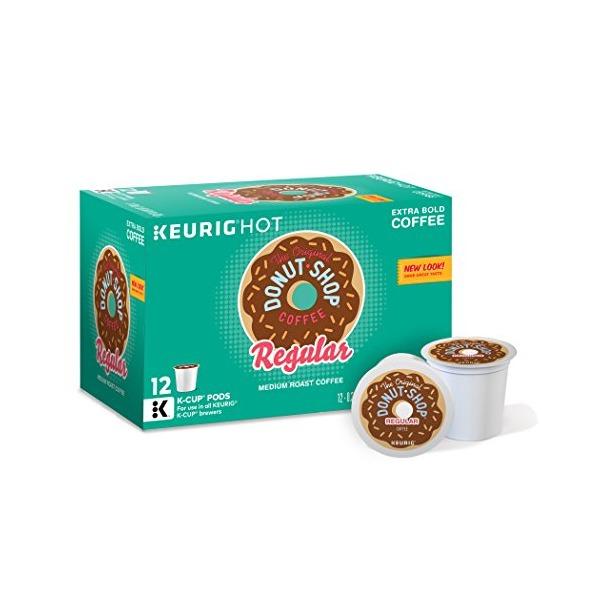The Original Donut Shop Regular, Keurig K-Cups, 72 Count (Packaging may Vary)