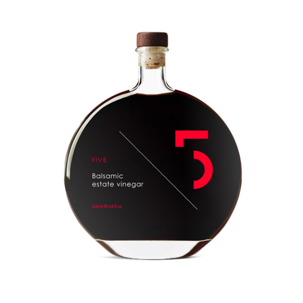 Five Estate Balsamic Vinegar, 6.8 Fluid Ounce