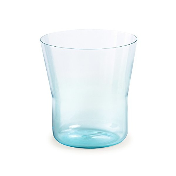 Authentics Piu Vase 15, Mouthblown Glass, Light Blue, 15 cm, Ø 14 cm, 2818566